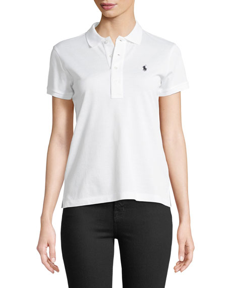 Ralph Lauren Collection Short-Sleeve Knit Polo Shirt