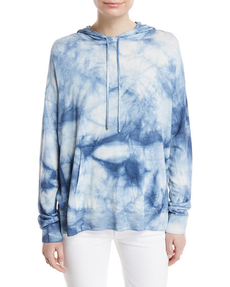 Ralph Lauren Collection Long-Sleeve Tie Dye Hoodie