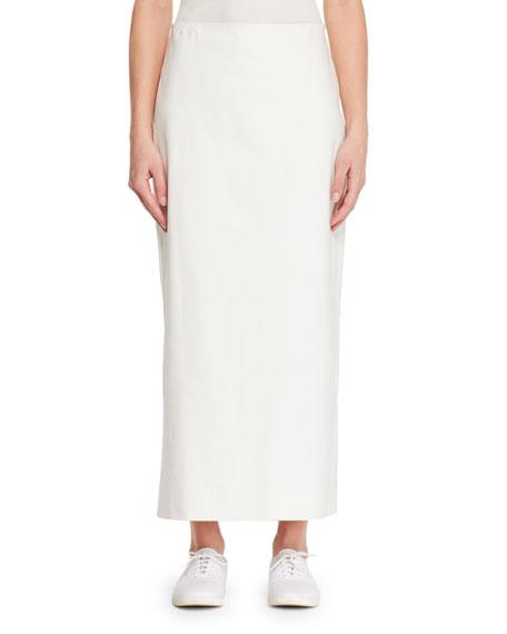 Aylor Straight Cotton Skirt