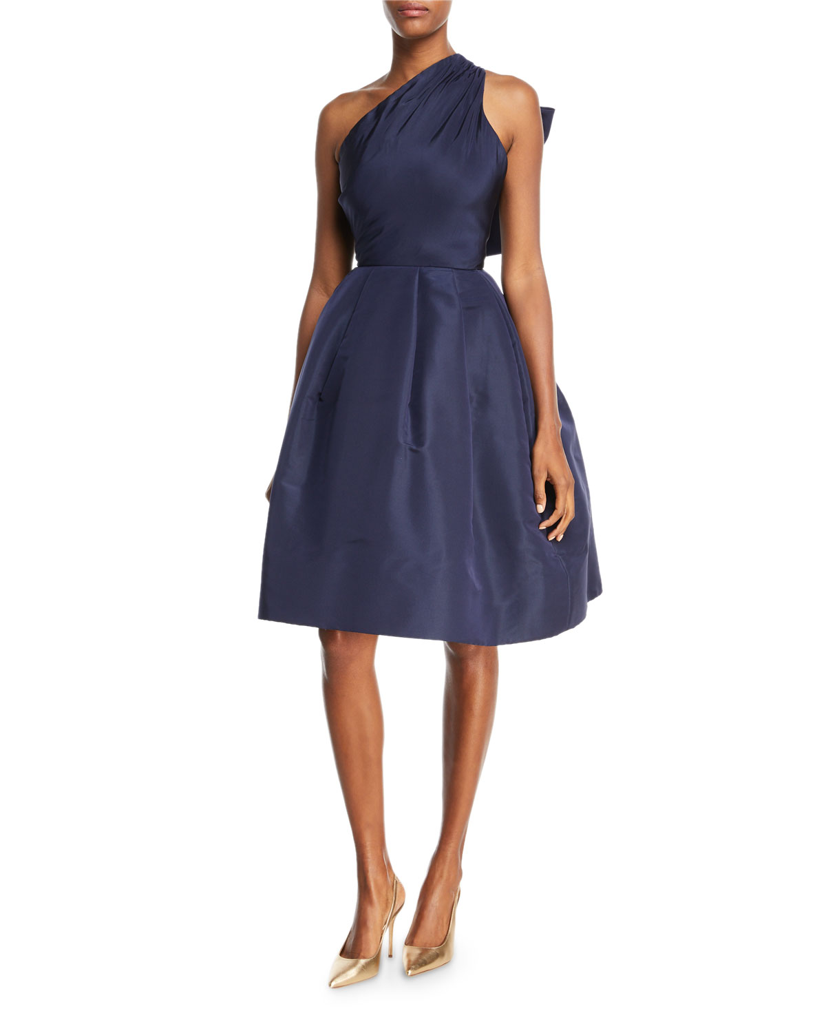 Blue italian cocktail dress neiman marcus quick look ombrellifo Image collections