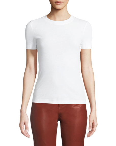 Crewneck Short-Sleeve Classic Slim-Fit T-Shirt