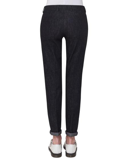 Magda Slim-Leg Ankle Jeans