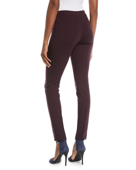 Mara Skinny Stretch-Melange Pants