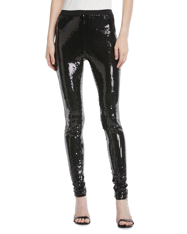 ca391f20b Marc Jacobs Heavy-Sequin Leggings