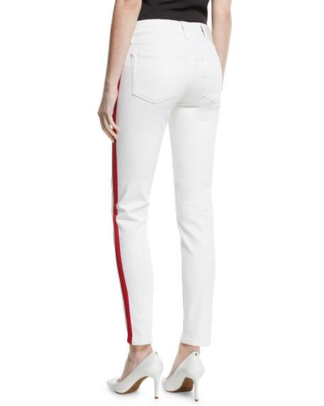 400 Matchstick Skinny-Leg Jeans w/ Tux Stripe