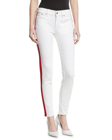 Ralph Lauren Collection 400 Matchstick Skinny-Leg Jeans w/