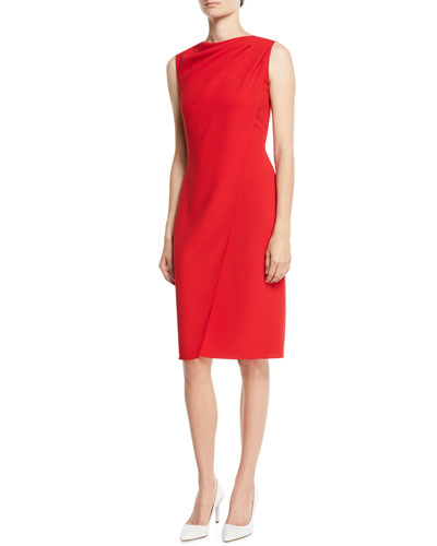 Laciann Sleeveless Drape-Front Crepe Cady Sheath Dress. Add to Favorites  Add to Favorites. Quick Look. Ralph Lauren Collection