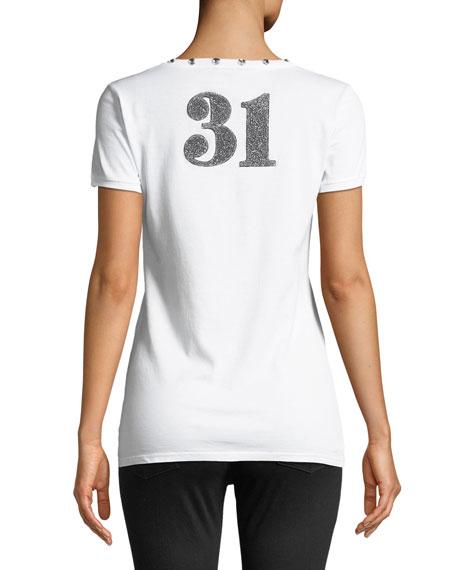 DG Milano 31 Crewneck Short-Sleeve Jersey T-Shirt
