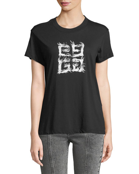 Givenchy Fitted 4G Logo T-Shirt