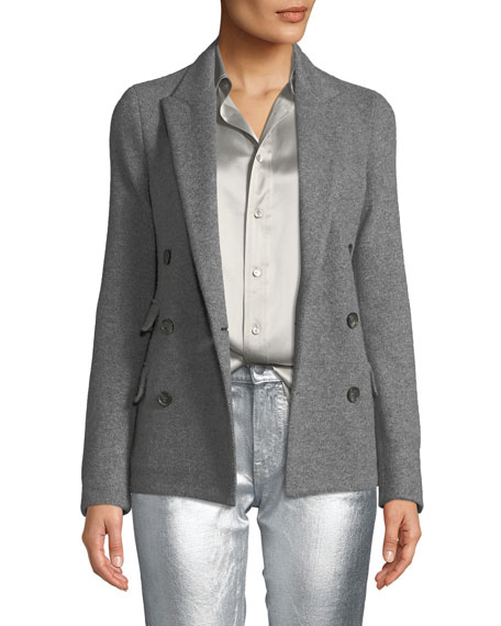 Ralph Lauren Collection Camden Double-Breasted Cashmere Jacket