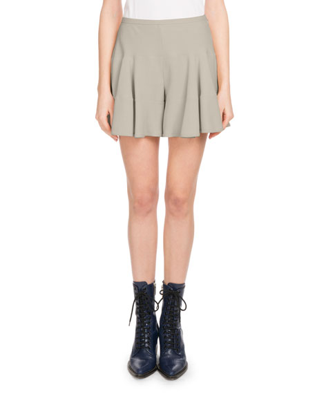Pull-On Light-Cady Flutter Shorts