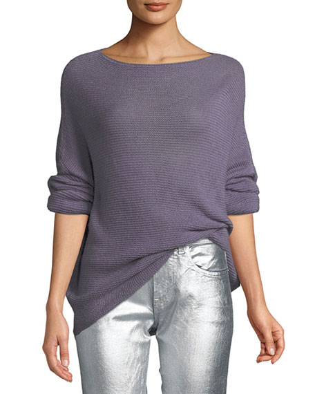 Ralph Lauren Collection Boat-Neck Dolman-Sleeve Cashmere Sweater