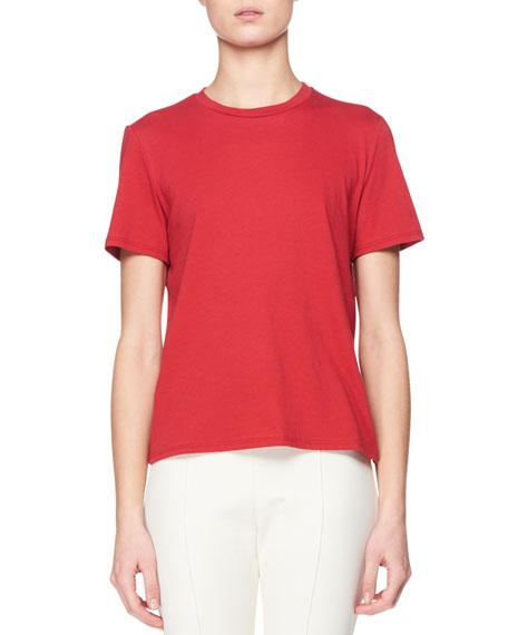 Sorel Crewneck Short-Sleeve Cotton Top