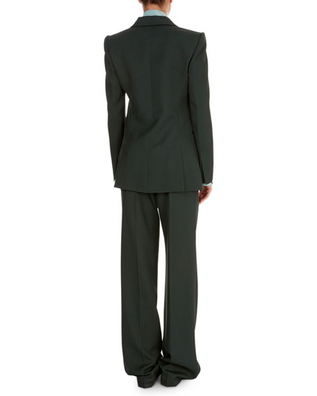 Tailored No-Closure Blazer