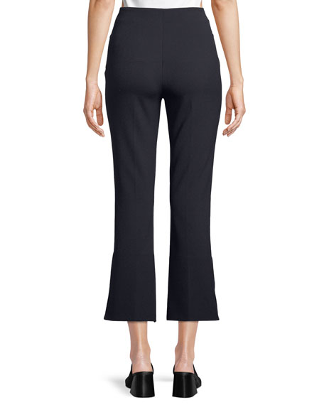 Goswell High-Waist Cropped Pants