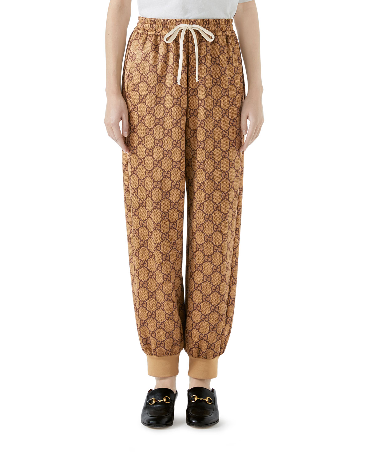Gg Technical Jersey Track Pants by Gucci