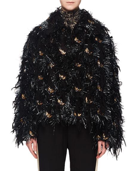 Vicenza Fringe Embroidered Jacket