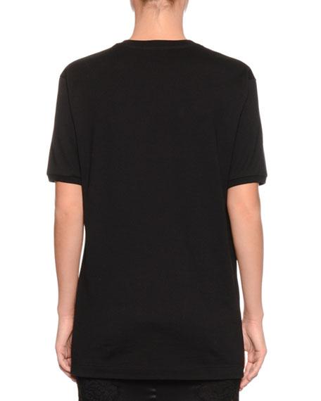 Fashion Sinner Crewneck Short-Sleeve Jersey T-Shirt
