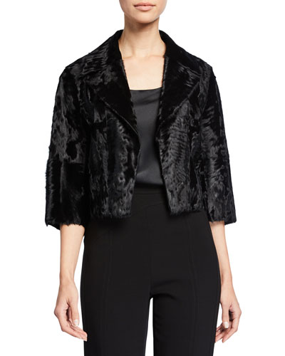 Surya Lamb Fur Jacket
