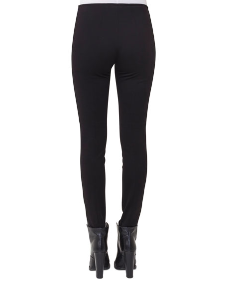 Napa Leather Skinny Pants