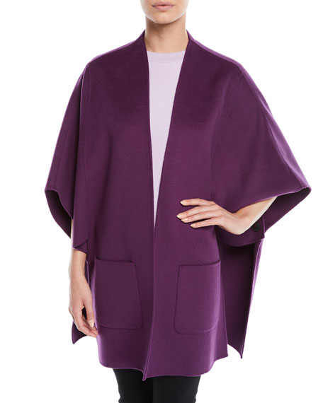Wool-Cashmere Cape