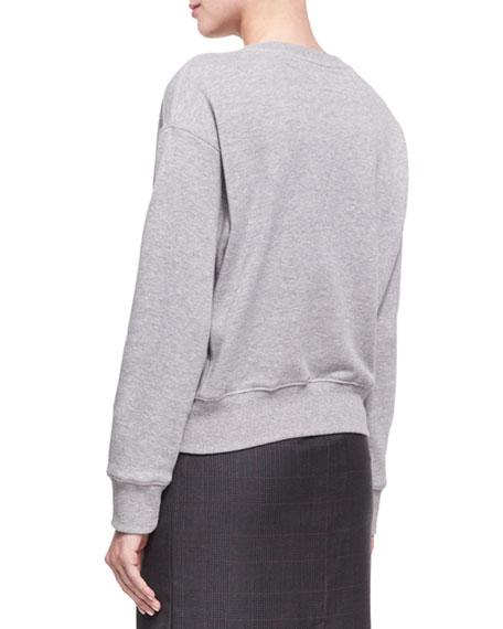 Brooke Cotton Sweatshirt
