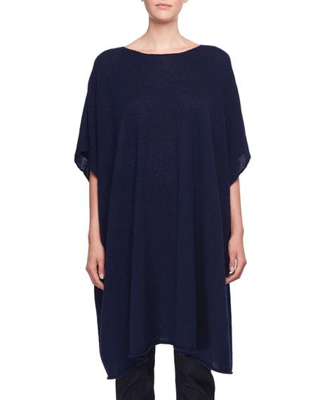 Cafty Cashmere-Silk Poncho