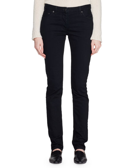 Bonly Low-Rise Skinny Denim Pants