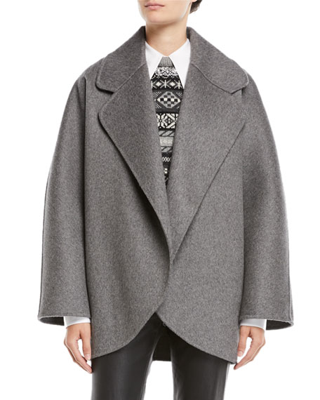 Michael Kors Collection Oversized Wool Jacket and Matching