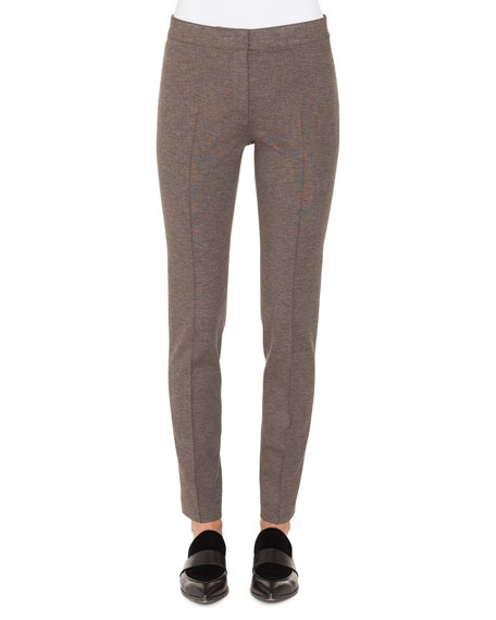 Mara Skinny Full-Length Stretch-Jersey Pants