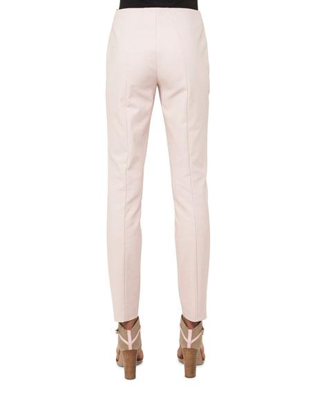 Melissa Mid-Rise Slim-Leg Pants