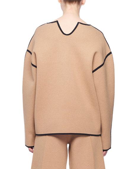 Bonnie V-Neck Long-Sleeve Top