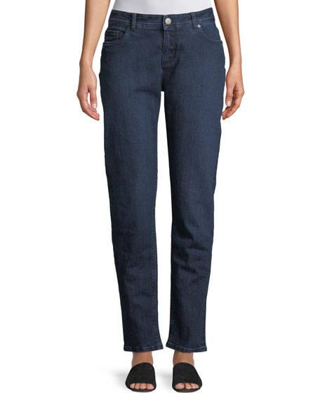 Mathias Hidalgo Washed Stretch Denim Jeans