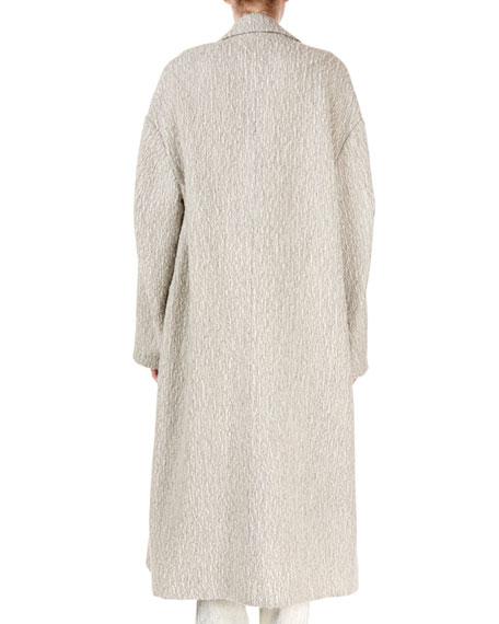 Habra Oversized Alpaca/Wool Boucle Knit Coat