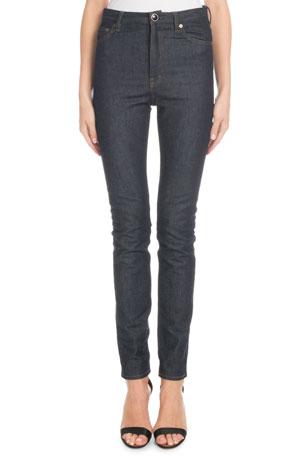 Victoria Beckham High-Waist Slim-Leg Jeans