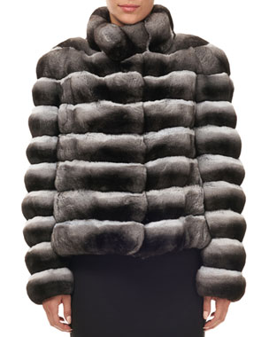 b78c568db54 Women s Designer Fur Coats   Jackets at Neiman Marcus