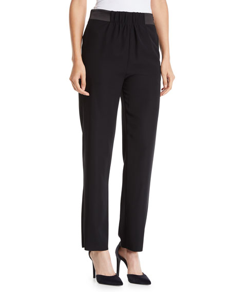 Tech Cady Pants with Grosgrain Waistband