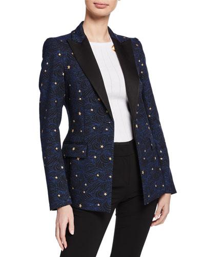 Night Sky Jacquard Jacket