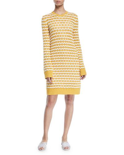 Lindos Crewneck Sweaterdress