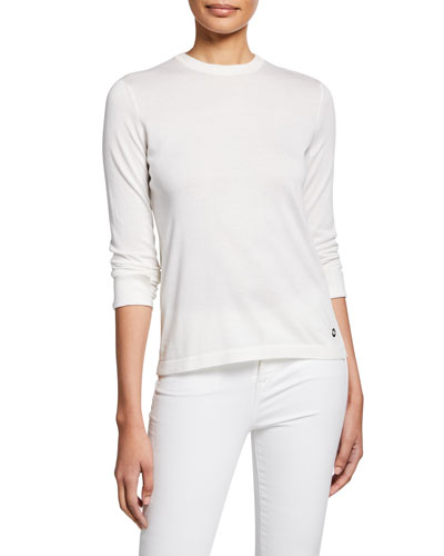 Ventatone Lightweight Knit Long-Sleeve Crewneck Sweater