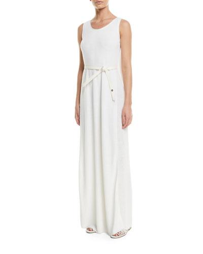 Waiiki Long Linen/Silk Knit Dress