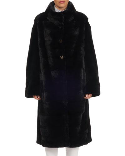Sheared Mink Fur Short Coat