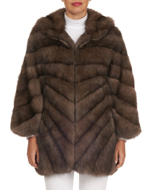 b2a881dfd Women s Designer Fur Coats   Jackets at Neiman Marcus