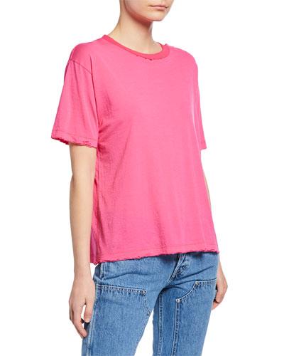 Short-Sleeve Distressed Skate T-Shirt