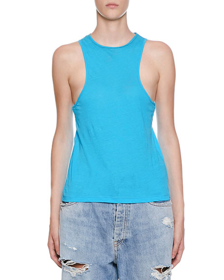 Ben Taverniti Unravel Project SLEEVELESS JERSEY RACER TANK
