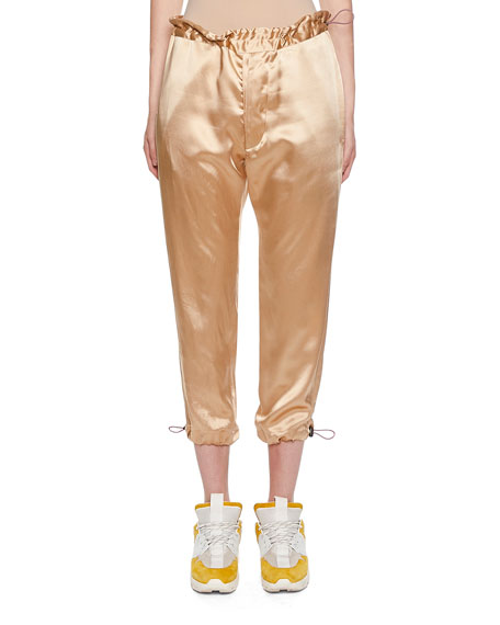 Ben Taverniti Unravel Project SATIN TUXEDO JOGGERS