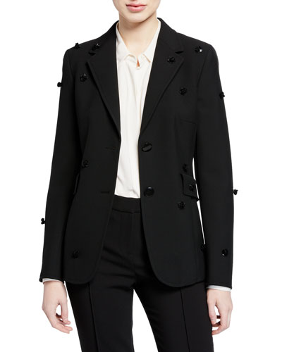 Sequined Blazer Jacket