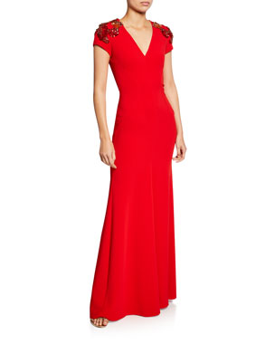 Jenny Packham Dresses Gowns At Neiman Marcus