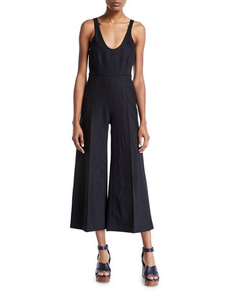 Partow CARTER SLEEVELESS EASY-LEG JUMPSUIT