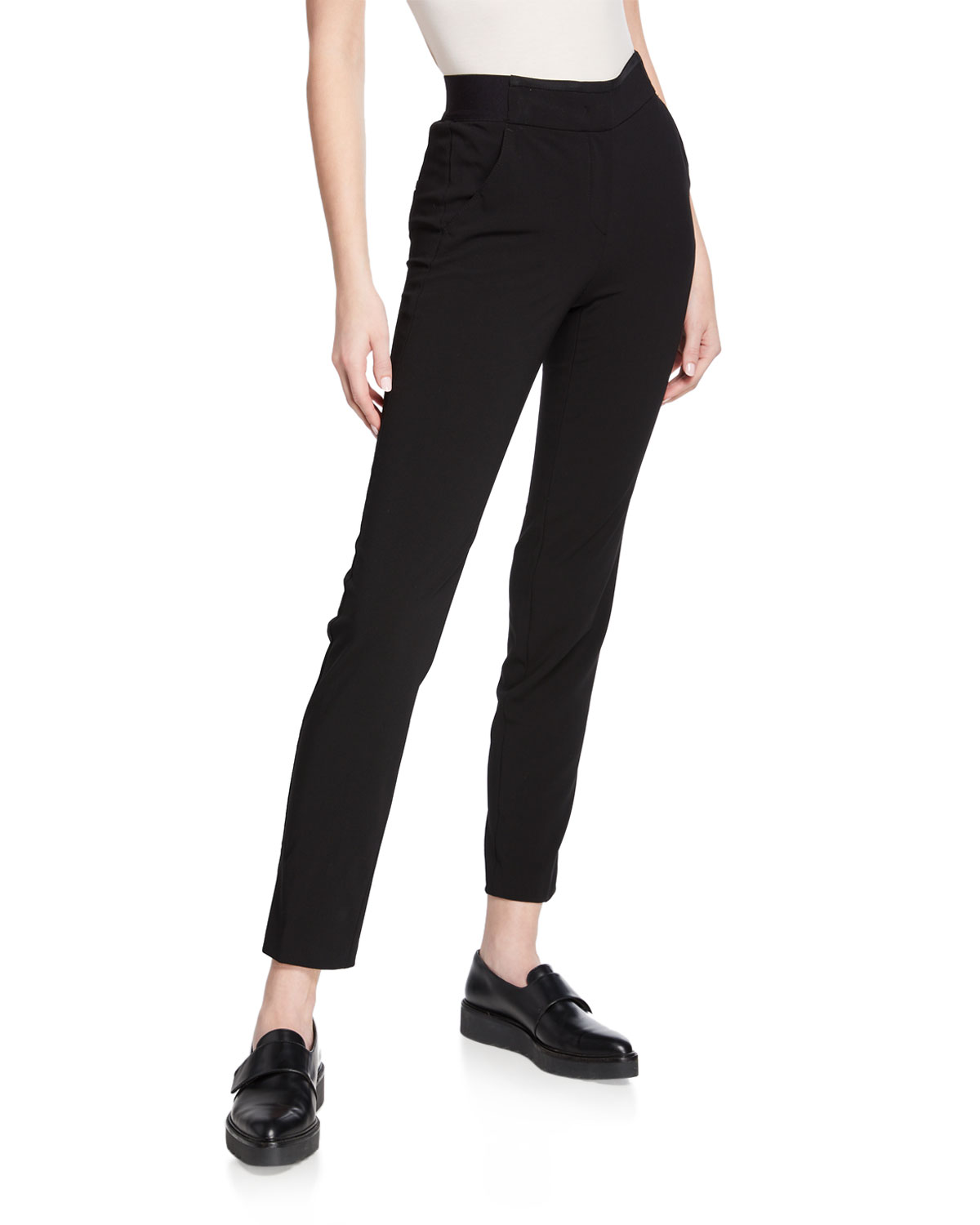 8d54a0fbe7311 Black Magic Straight-Leg Ankle Pants